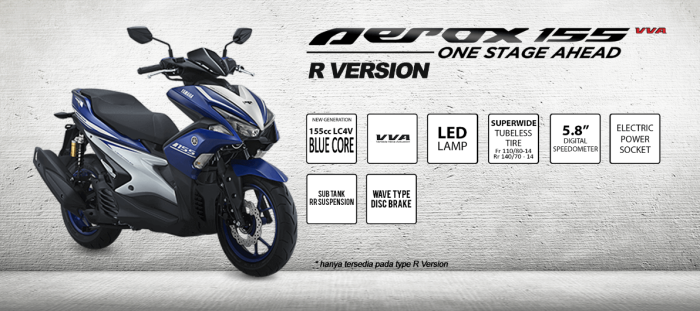 aerox-155-r-version-features